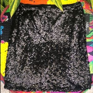 ABS Allen Schwartz | Sz.Small Sequins Women Skirt